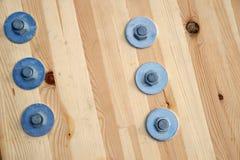 被碾压的木材 免版税库存图片