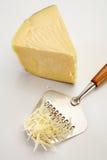 被磨碎的干酪 库存照片