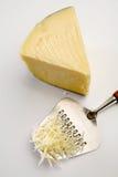 被磨碎的干酪 免版税库存图片