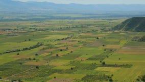 被种植的领域和种植园,农业复合体,序列鸟瞰图  影视素材