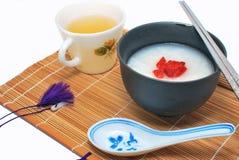 被称呼的亚洲早餐健康 库存照片