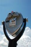被管理的双筒望远镜coint 免版税库存图片