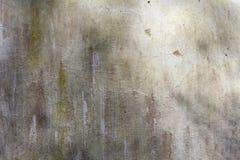 被粉刷的老风化了困厄的破裂的水泥石墙纹理 库存图片