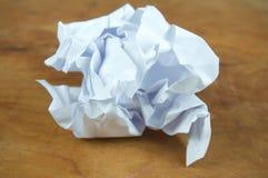 被粉碎的纸张 免版税图库摄影