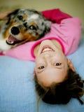 被纵容的狗 免版税图库摄影