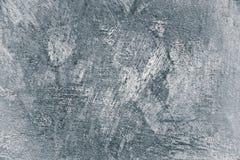 被绘的具体膏药墙壁背景白色小插图 免版税库存照片