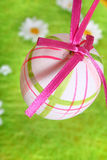 被绘的复活节彩蛋 免版税库存图片