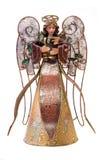 被绘的天使 免版税库存图片