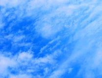 被绘的天空纹理 免版税库存图片