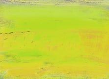 被绘的抽象画布 免版税库存照片
