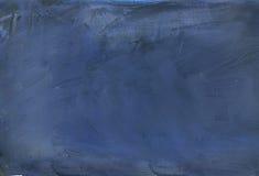被绘的抽象蓝色 库存图片
