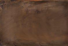 被绘的抽象褐色 库存图片
