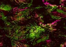 被绘的水彩样式 库存图片