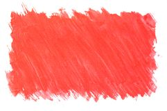 被绘的红色背景 向量例证