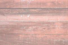 被绘的老木墙壁 红色背景 免版税库存照片