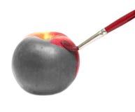 被绘的苹果 免版税库存照片