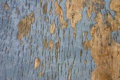 被绘的被风化的木头 免版税库存照片