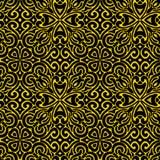 被绣的无缝的样式 纺织品的印刷品 手工制造 免版税库存照片