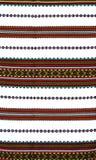 被绣的模式传统乌克兰语 免版税库存照片