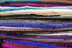 被编织的地毯 免版税图库摄影