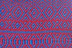 被编织的地毯 免版税库存照片