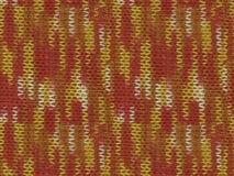 被编织的多色伪装exture的一个无缝的样式 免版税图库摄影