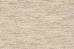 被编织的布料纹理 库存图片
