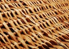 被编织的木头 图库摄影