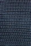 被编织的毛织物品纹理 免版税库存照片
