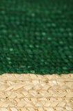 被编织的秸杆背景 图库摄影