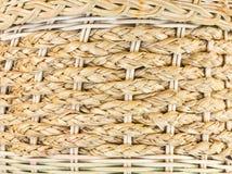 被编织的竹子。 免版税库存图片