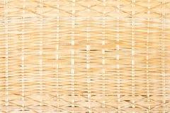 被编织的竹子。 库存图片