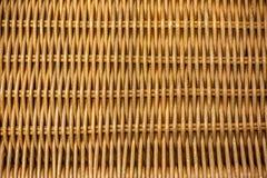被编织的竹子,藤条篱芭,背景,秸杆织法纹理 库存图片