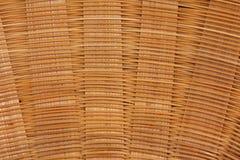 被编织的竹子 免版税库存图片