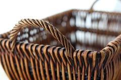 被编织的篮子 免版税图库摄影
