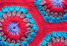 被编织的纺织品地毯样式宏指令 库存图片