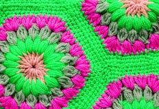 被编织的纺织品地毯样式宏指令 图库摄影