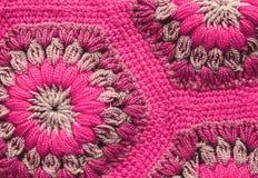 被编织的纺织品地毯样式 库存图片
