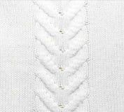 被编织的织品纹理 免版税库存照片