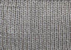 被编织的羊毛模式 免版税库存照片