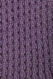 被编织的羊毛模式 免版税库存图片