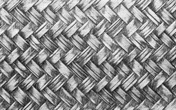 被编织的背景木头 免版税图库摄影