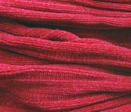 被编织的部分羊毛 免版税库存图片