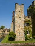 被编译的城堡英国有历史的老石头 库存照片