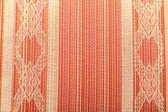 被编织的减速火箭的样式纺织品 免版税库存图片