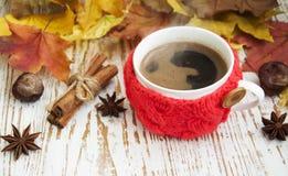 被编织的咖啡 免版税图库摄影
