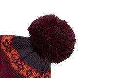 被编织的帽子 图库摄影