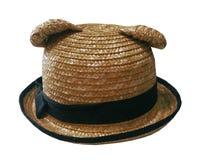 被编织的帽子 免版税库存照片