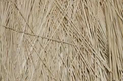被编织的手工制造的竹子 库存图片