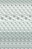 被编织的抽象灰色和白色表面 库存照片